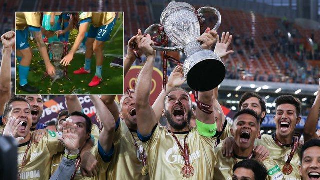Zenit fiton Kupën e Rusisë, por kapiteni e thyen sapo e merr në