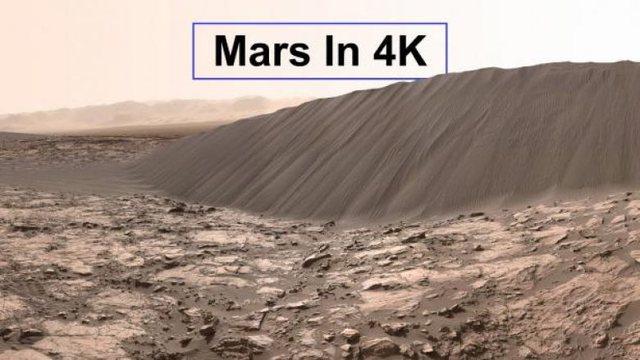 Video mahnitëse/ Si duket planeti Mars në 4K