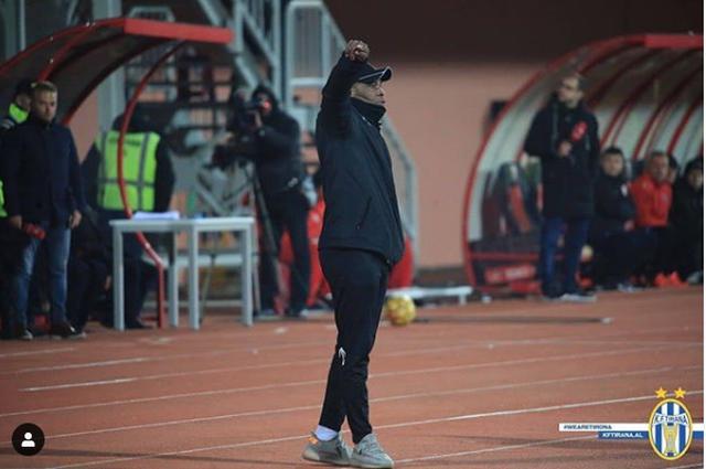 """""""Tani kemi festën e kupës"""", trajneri i KF Tirana: 1% e"""