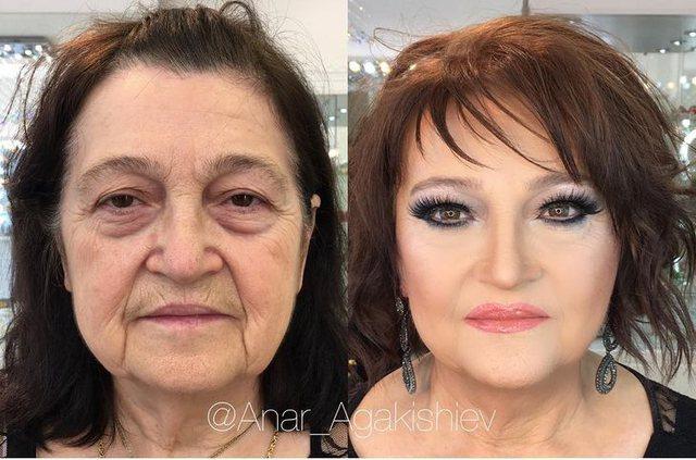 Fuqia e make-up, 10 ndryshimet më të pabesueshme (FOTO)