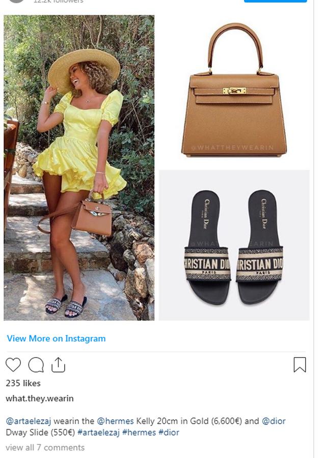Mbi 6 mijë euro, bukuroshja shqiptare me çantë si të