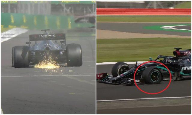 """VIDEO/ Hamilton """"i çmendur"""", fiton garën me gomë"""