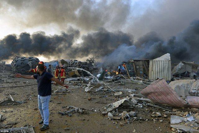 Thellohet tragjedia në Bejrut, mbi 78 të vdekur