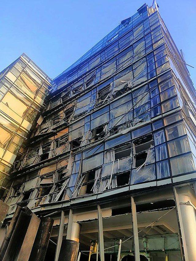Rrëqethëse/ Pamjet e fundit nga Bejruti, çfarë ka mbetur