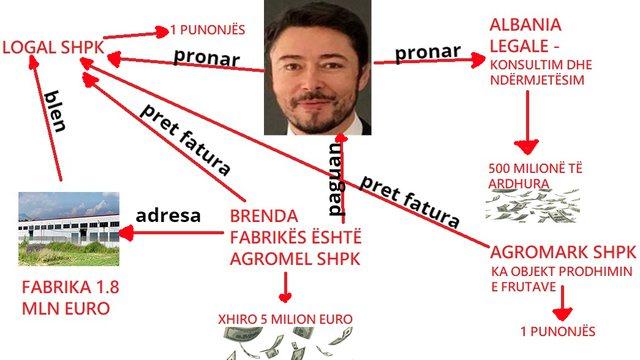 """Skemë """"oktapodi""""/ Shkëlzen Berisha hap disa kompani"""