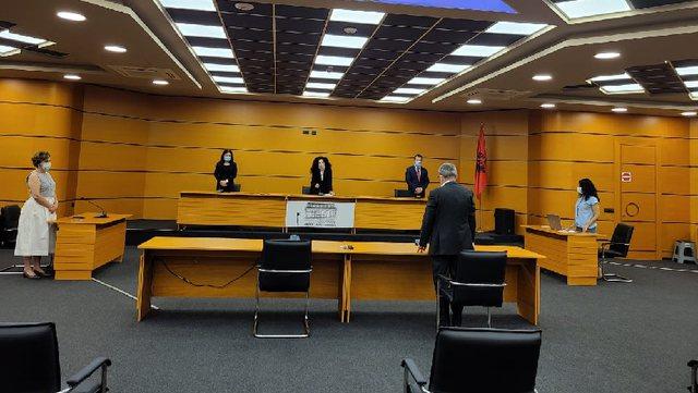 Konfirmohet në detyrë kryetari i Gjykatës së Tiranës,