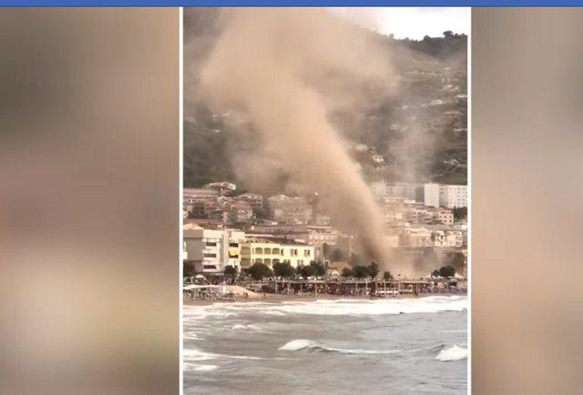VIDEO/ 'Çmendet' moti në Palermo, tornadoja merr me vete