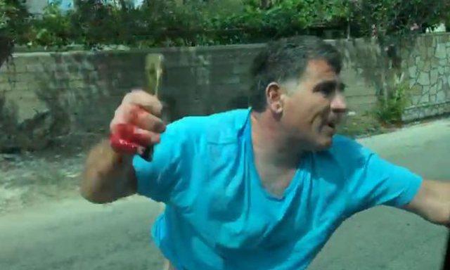 Terrorizoi me thikë turistët/ Artan Hoxha takon Mihal