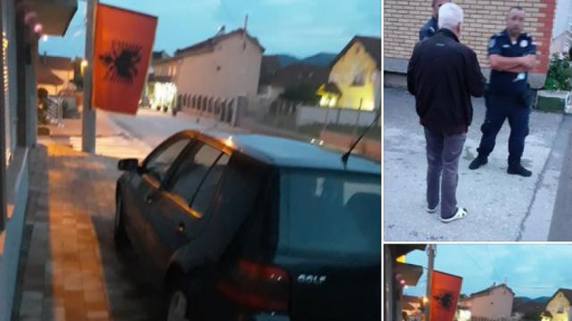 Flamuri kuqezi 'tërbon' policinë serbe, çfarë