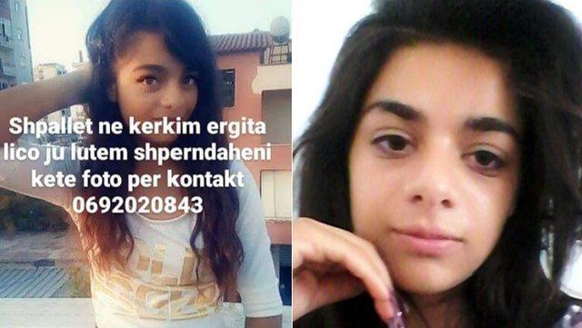 Gjendet 15-vjeçarja e zhdukur prej 3 ditësh, vajza nga Vlora kishte