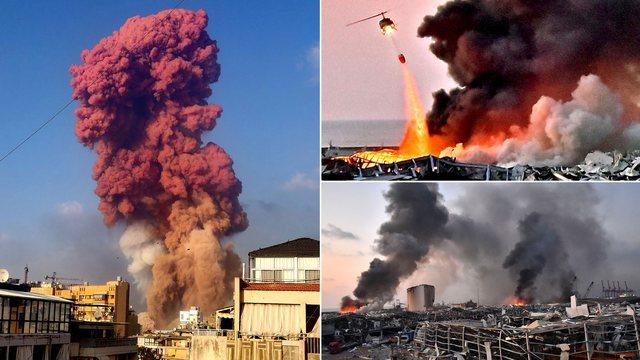 Shpërthimi në Bejrut, NASA tregon pamjet e shkatërrimit nga