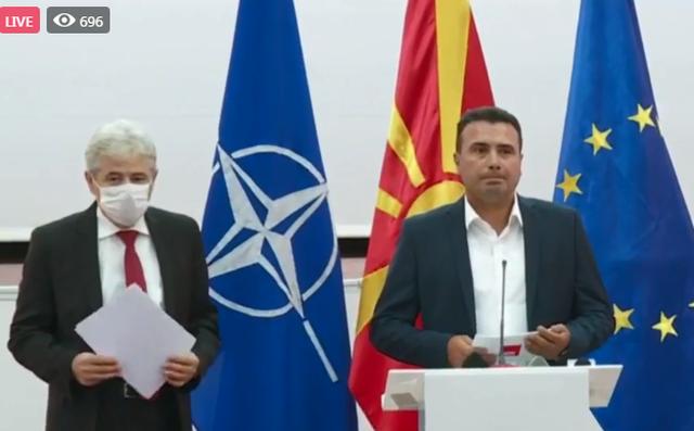 Qeveria e re/ Ahmeti dhe Zaev zbulojnë detaje nga marrëveshja e re: