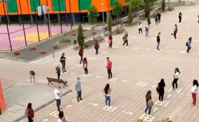 Publikohet video/ Si do hyjnë dhe do dalin nxënësit nga shkollat