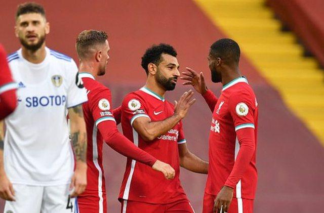 Liverpool 'mbron' titullin kampion, Salah heroi i ndeshjes,