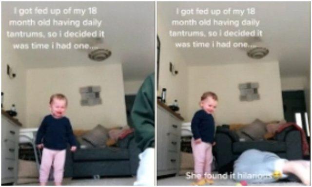 Fëmija juaj nuk pushon së qari? Kjo mama e ka gjetur zgjidhjen (VIDEO)