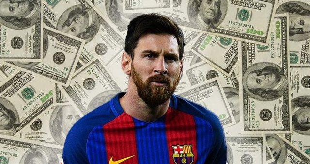 Messi bëhet miliarderi i dytë i futbollit pas Ronaldos, shifra