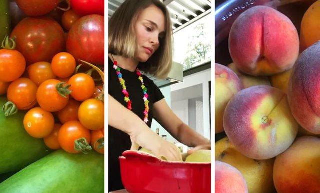 Të famshmit që kanë mbjellë fruta dhe perime në