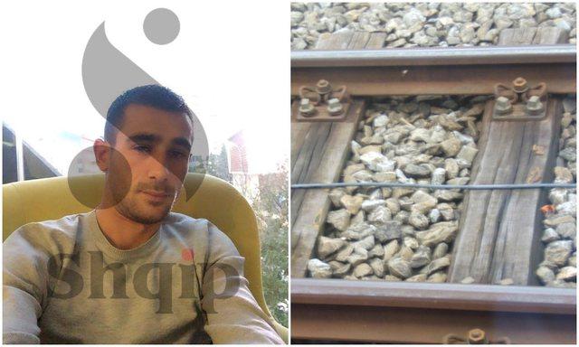 Dalin fotot/ Thikë në zemër dhe e lanë te shinat e trenit,