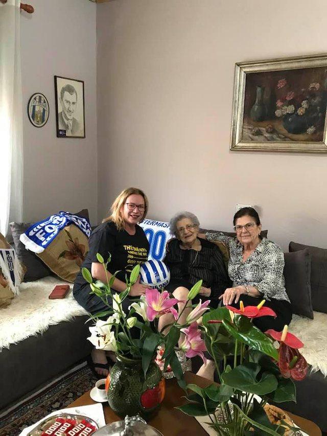 Mes ngjyrave bardheblu, Nezihat Stërmasi feston 100-vjetorin e lindjes