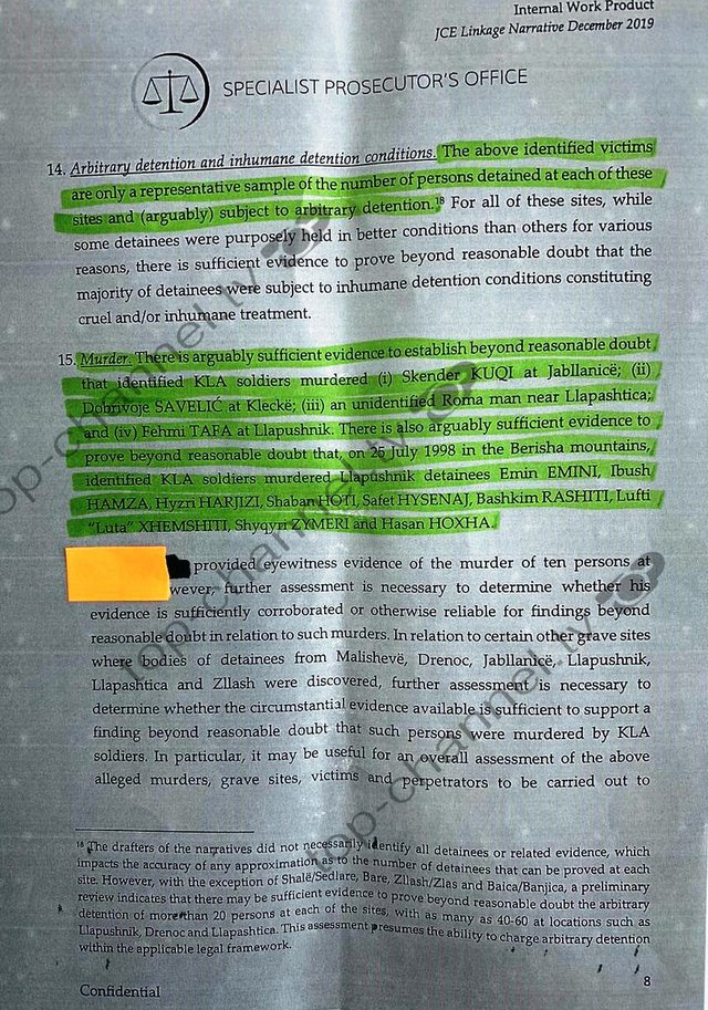 Lista/ Dosja e Hagës, emrat e 87 viktimave! Prokurorët: