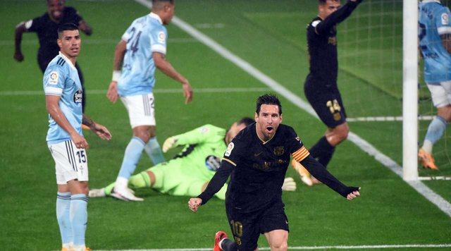 Barcelona nuk zhgënjen, fiton me 10 lojtarë ndaj Celta Vigos