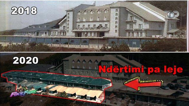 """Resorti """"Montrelux"""" u ndërtua pa leje, me dokumente false dhe"""
