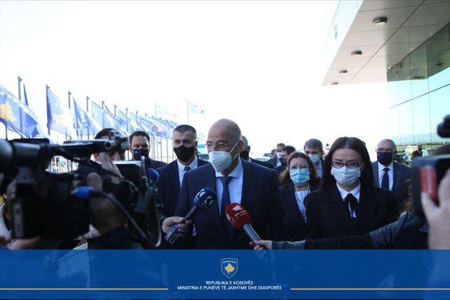 A do ta njohë Greqia-Kosovën? Ja si përgjigjet ministri Dendias