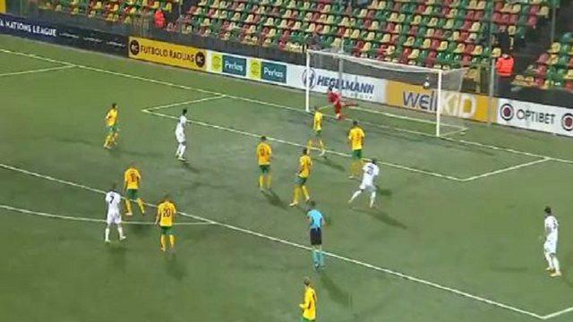 Pjesa e parë/ Lituani-Shqipëri, kuqezinjve u mohohet një penallti