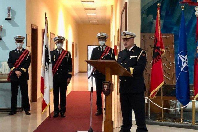 Shqipëria në krizë admiralësh, emërimi i komandant-
