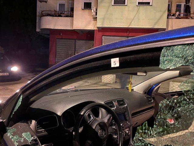 Makina e gazetarit shqiptar bëhet shoshë nga plumbat (FOTO)