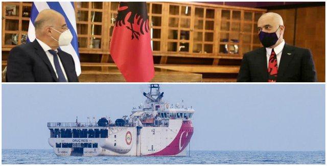 Konflikti me Turqinë, Dendias telefon urgjent nga Tirana, Barroson: