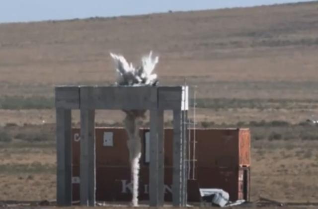 Turqia teston me sukses raketën anti-bunkerë (Video)