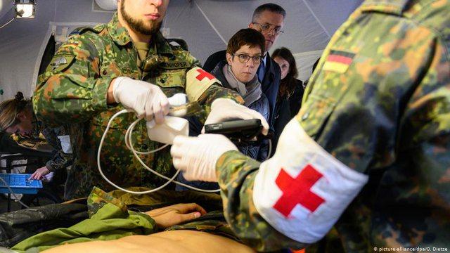 NATO dhuron 60 respiratorë për Shqipërinë, ushtria gjermane