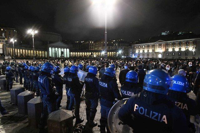 Protestat kundër masave anti-covid/ Ministria e Brendshme italiane: Alarm