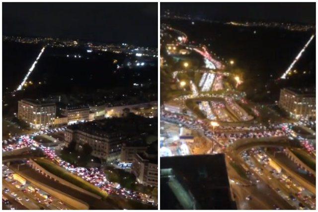 VIDEO/ Para 'katastrofës', arratisja e madhe nga Parisi para