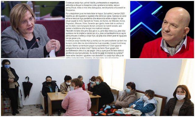 Përplasja/ Kabo letër Vasilika Hysit: Mos u pispillosni, shpëtoni
