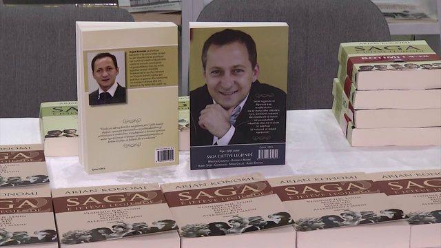 Saga e jetëve legjendë, Arjan Konomi sjell librin e dytë: Histori