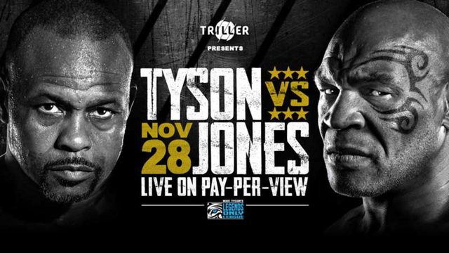 """54 vjeç, Mike Tyson i rikhehet ringut, ndeshja e """"Legjendave"""""""