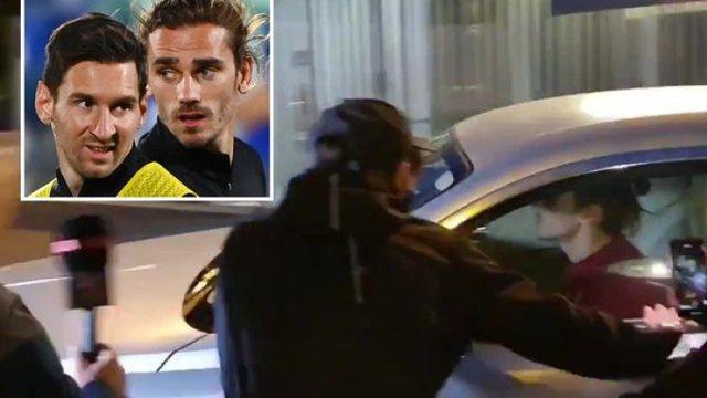 Video/ Tifozët e Barcelonës i bëjnë pritë Griezmanit,