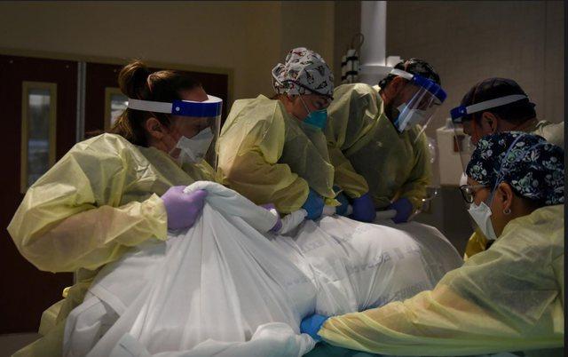 """""""Po vdesim""""/ Kaos në spitalet në SHBA (FOTO)"""