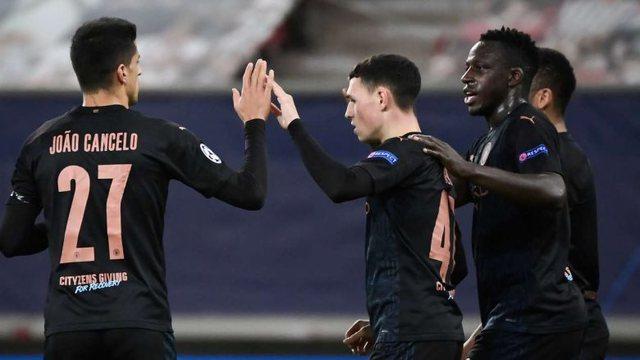 Manchester  City me pikë të plota, fiton ndaj Olympiacosit dhe siguron