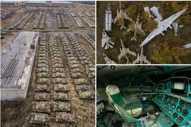 FOTOT/  Mijëra tanke, avionë e helikopterë, publikohen pamje nga