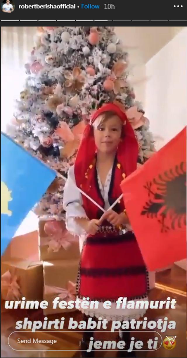 FOTOT e fëmijëve të VIP-ave shqiptarë me veshje popullore: O