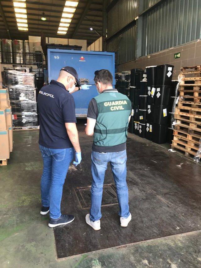 Policia e Shtetit aksion me Europol e Interpol për mbetjet sanitare