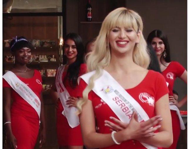 Merr mesazhe urrejtje se bëri shqiponjën, Miss Serbia: Serbët nuk