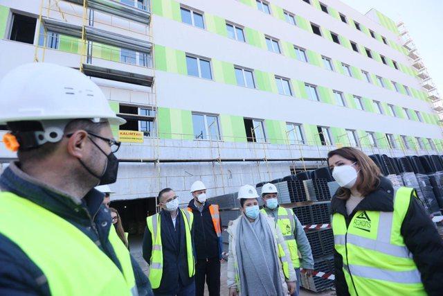Spitali i ri i sëmundjeve të brendshme, Manastirliu: 360
