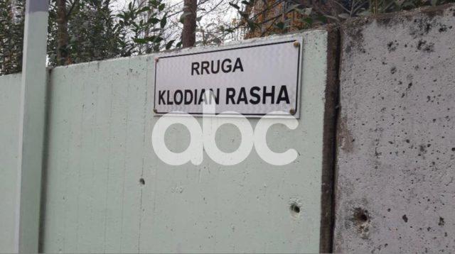 Rruga ku 25 vjeçari u vra nga polici merr emrin e Klodian Rashës, ja