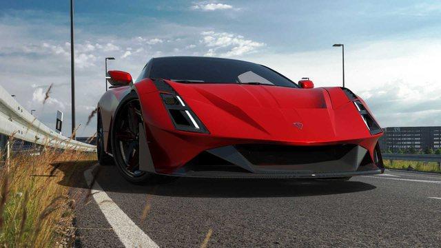 """""""Illyrian Pure Sport"""", """"Ferrari"""" i parë në"""