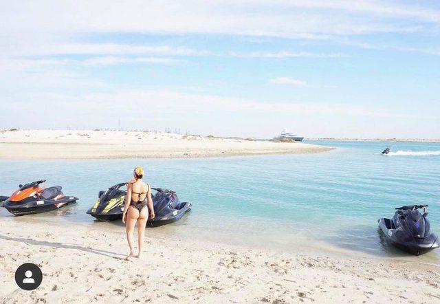 Georgina Rodriguez zhvishet në Dubai (FOTO)