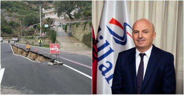 Shembja e rrugës në Borsh, kompania Salillari përgjegjëse